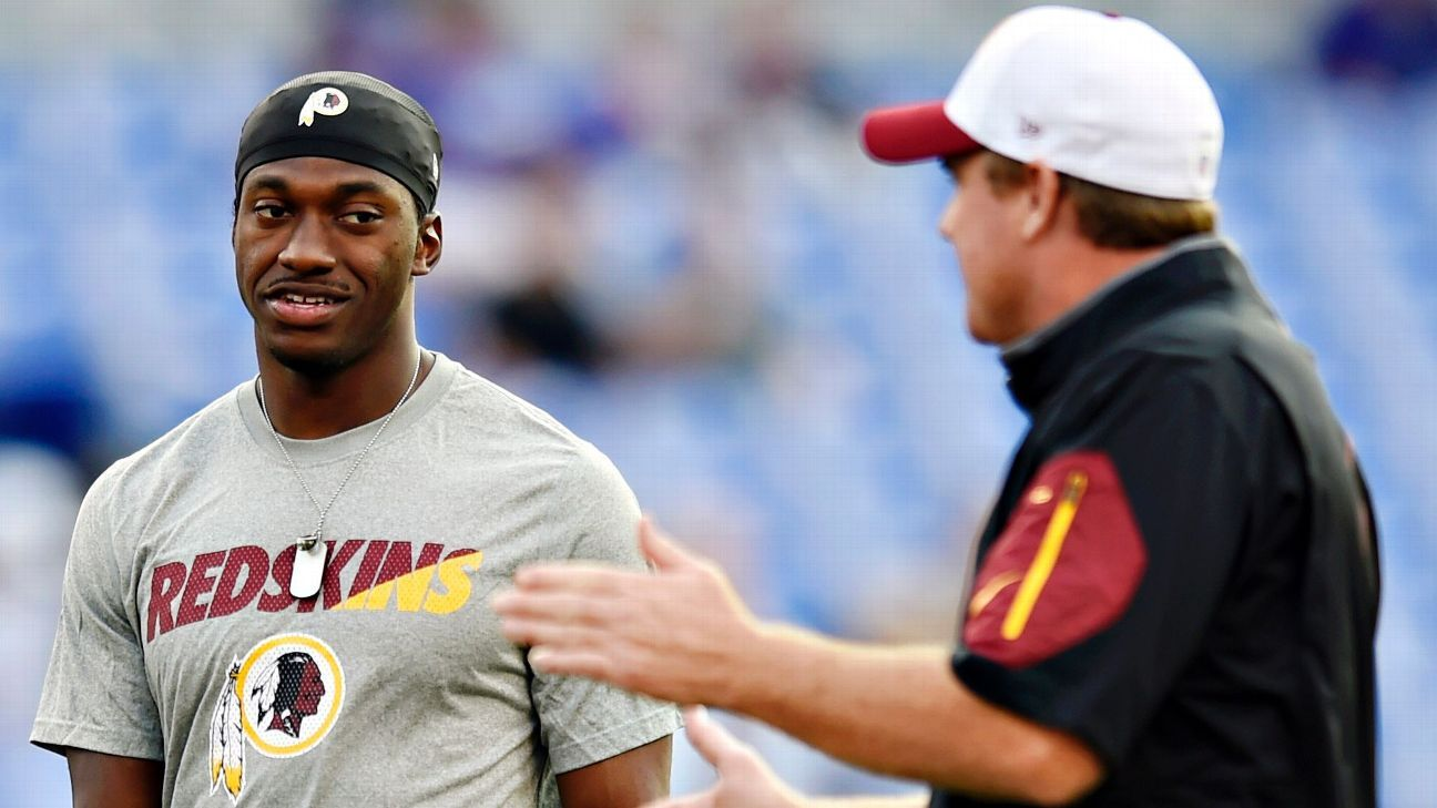 Jay Gruden: Redskins did everything 'by the book' with RG III