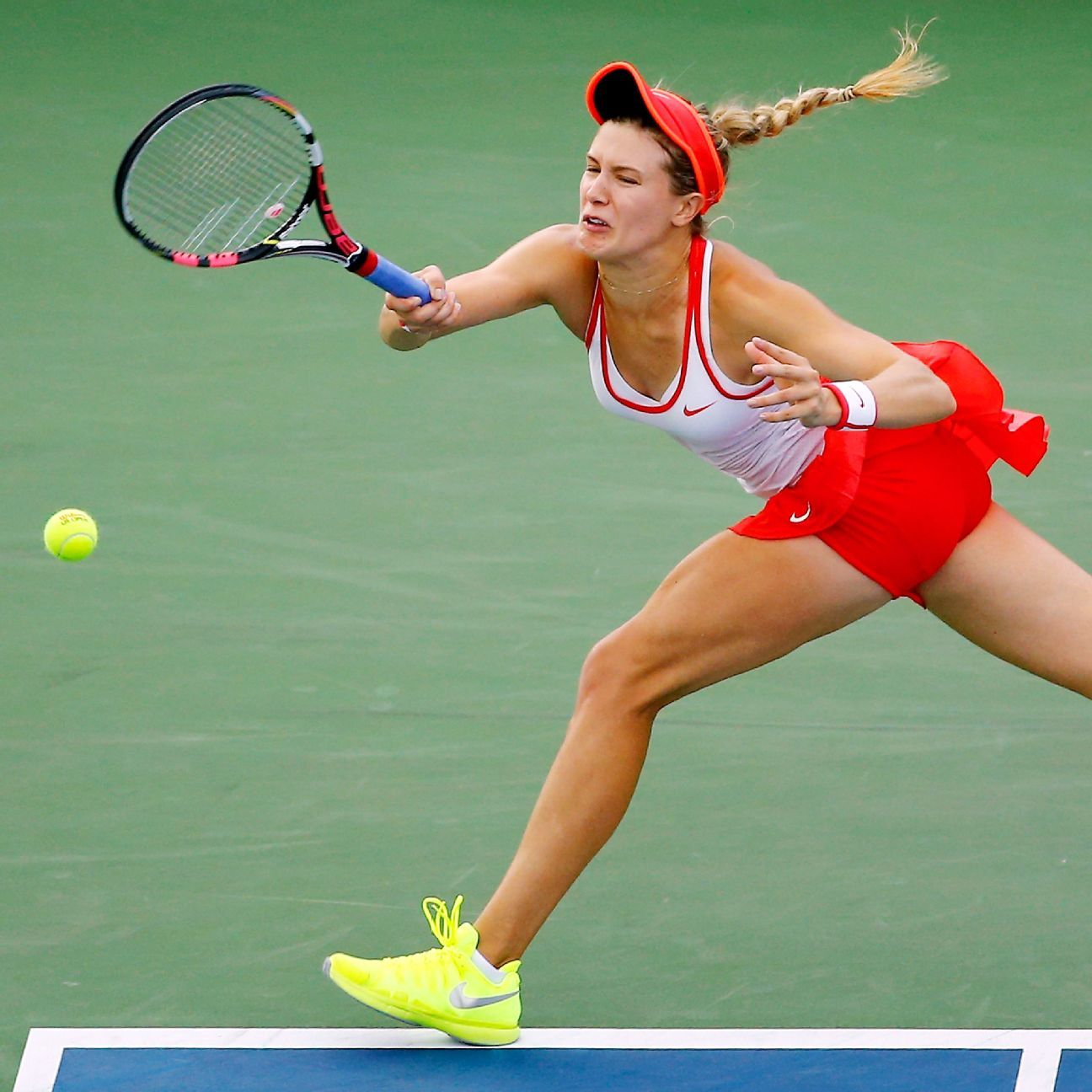 Eugenie Bouchard Out Of US Open Doubles With Head Injury