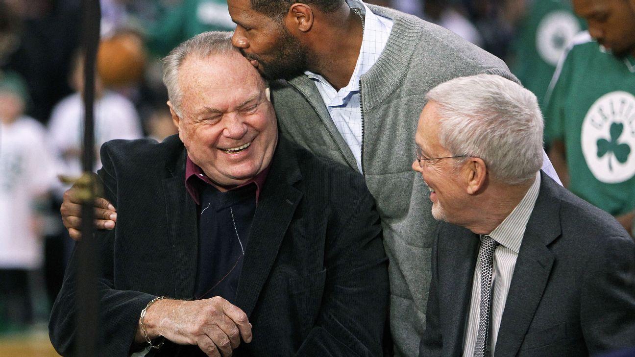 2015 Basketball Hall of Fame Boston Celtics Tommy Heinsohn the