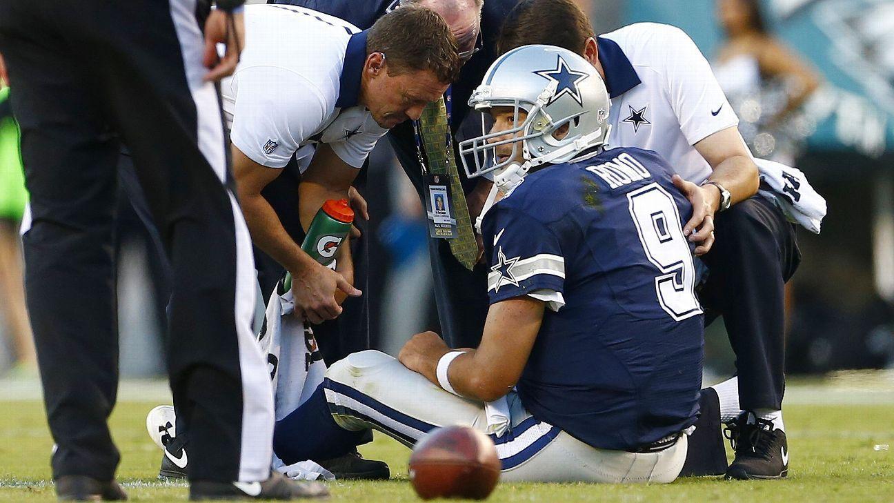 Cowboys' spirit not broken despite loss of Tony Romo