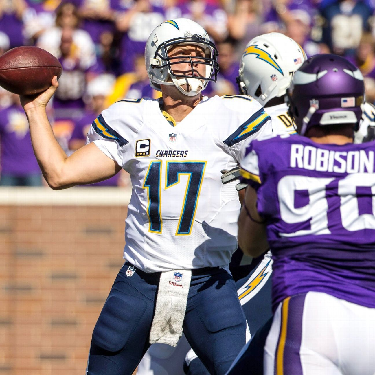 San Diego Chargers Attendance: Adrian Peterson, Minnesota Vikings Rumble Past San Diego