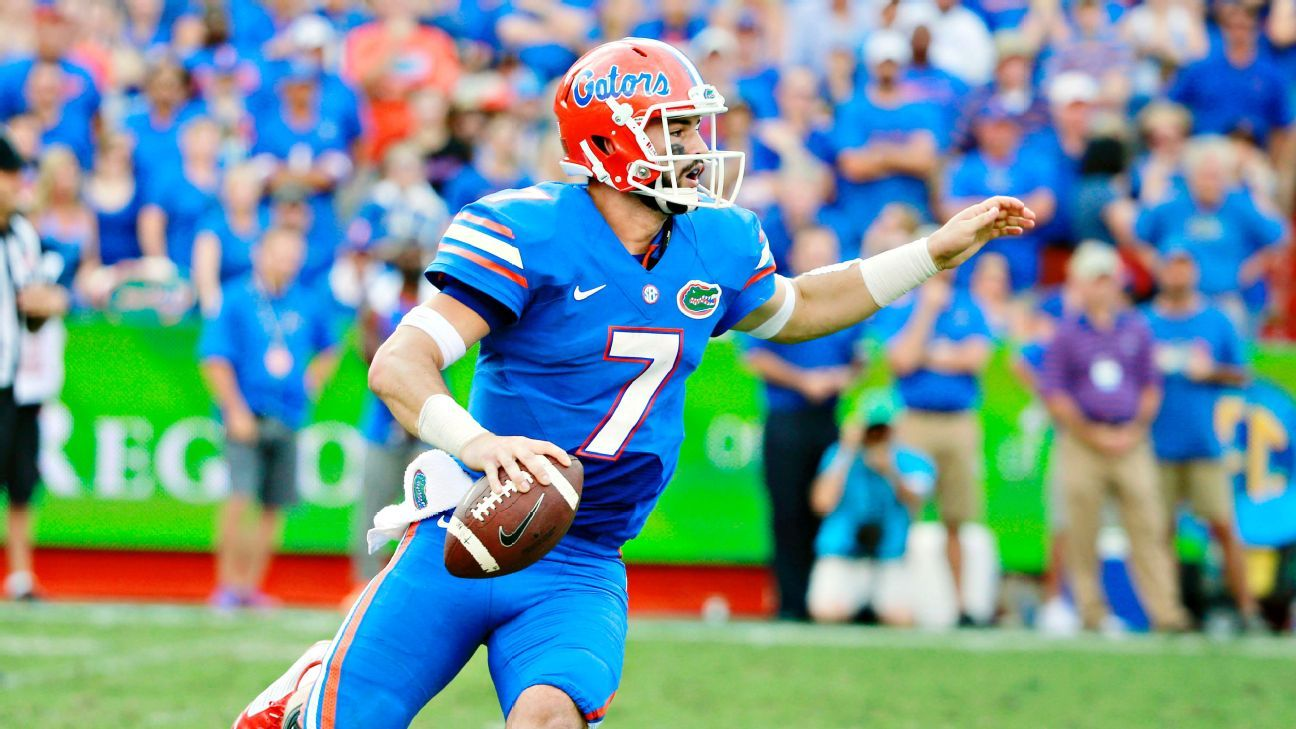 Will Grier Florida Gators Quarterback Suspended For The