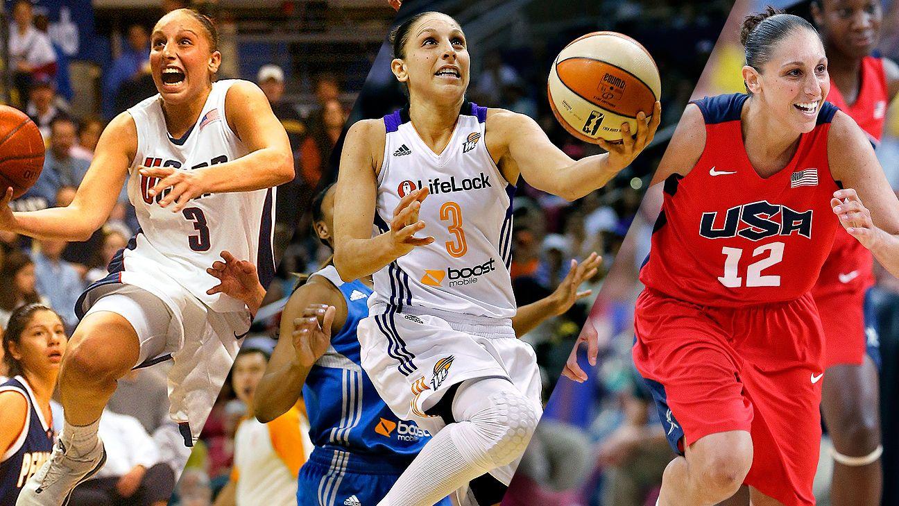 Diana Taurasi wins best women's basketball player ever bracket