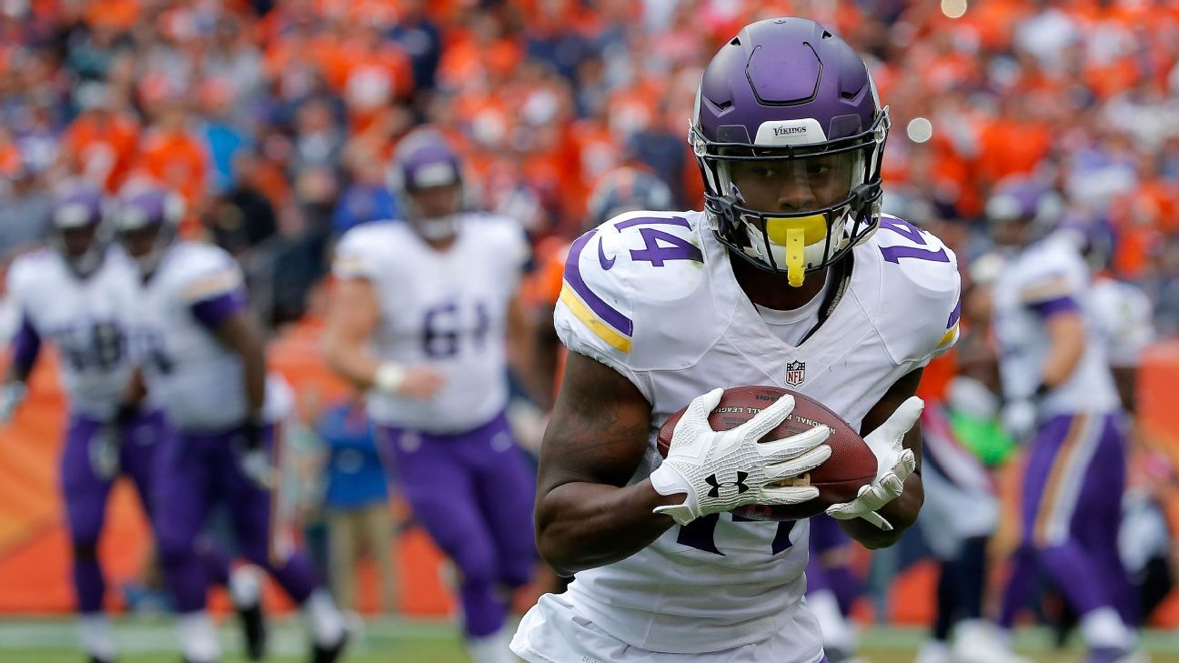 Eagles Vs Rams >> Stefon Diggs expected to start for Vikings vs. Lions - Minnesota Vikings Blog- ESPN