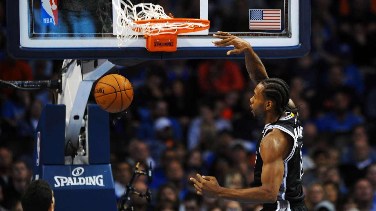 San Antonio Spurs' Kawhi Leonard not satisfied with career ...