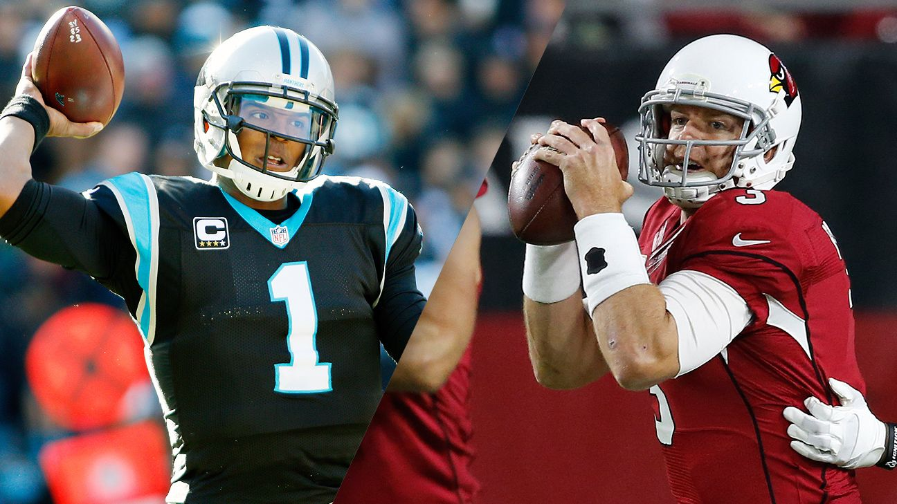 The best QB battle on Sunday will be Newton-Palmer, not Brady-Manning