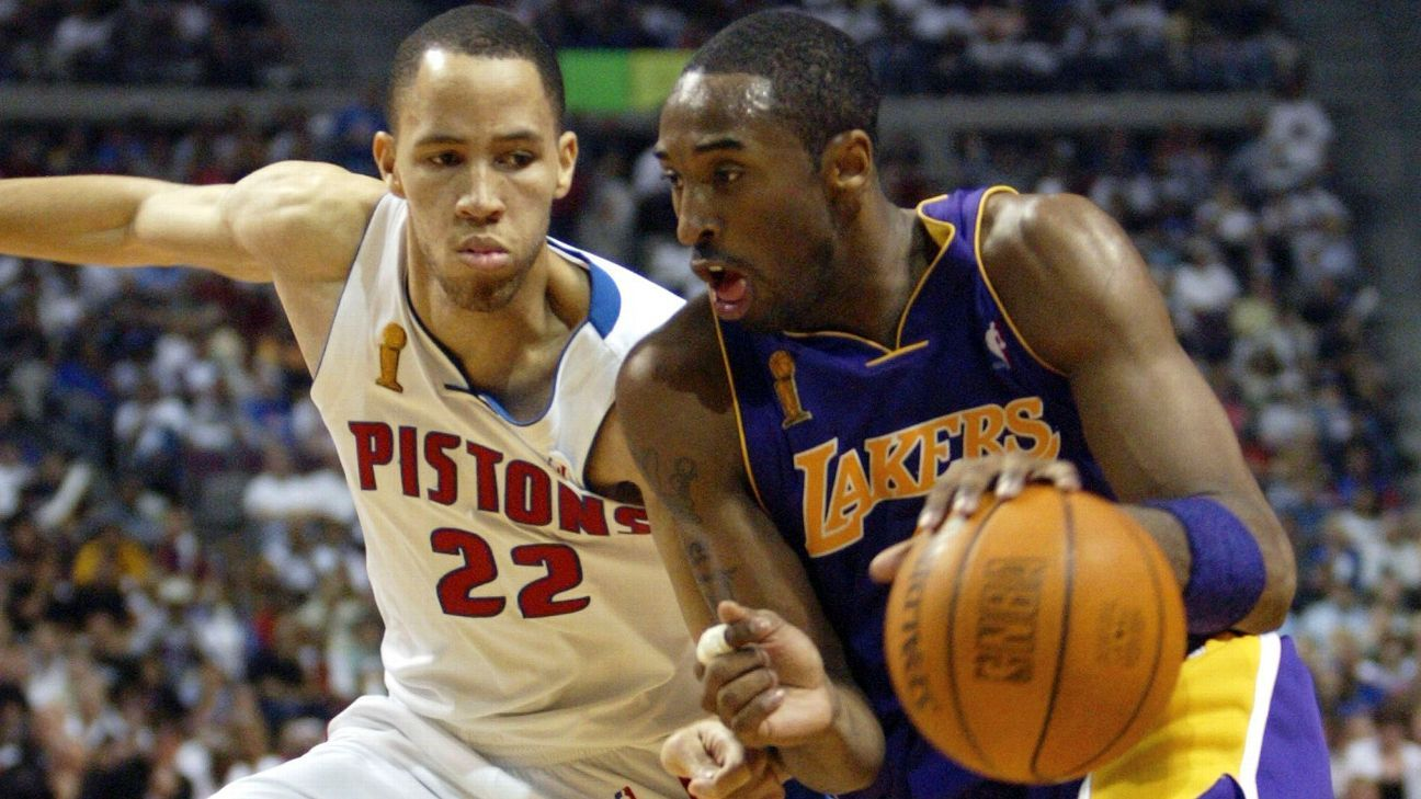 Kobe Bryant reflects on 2004 Finals loss, content with ...