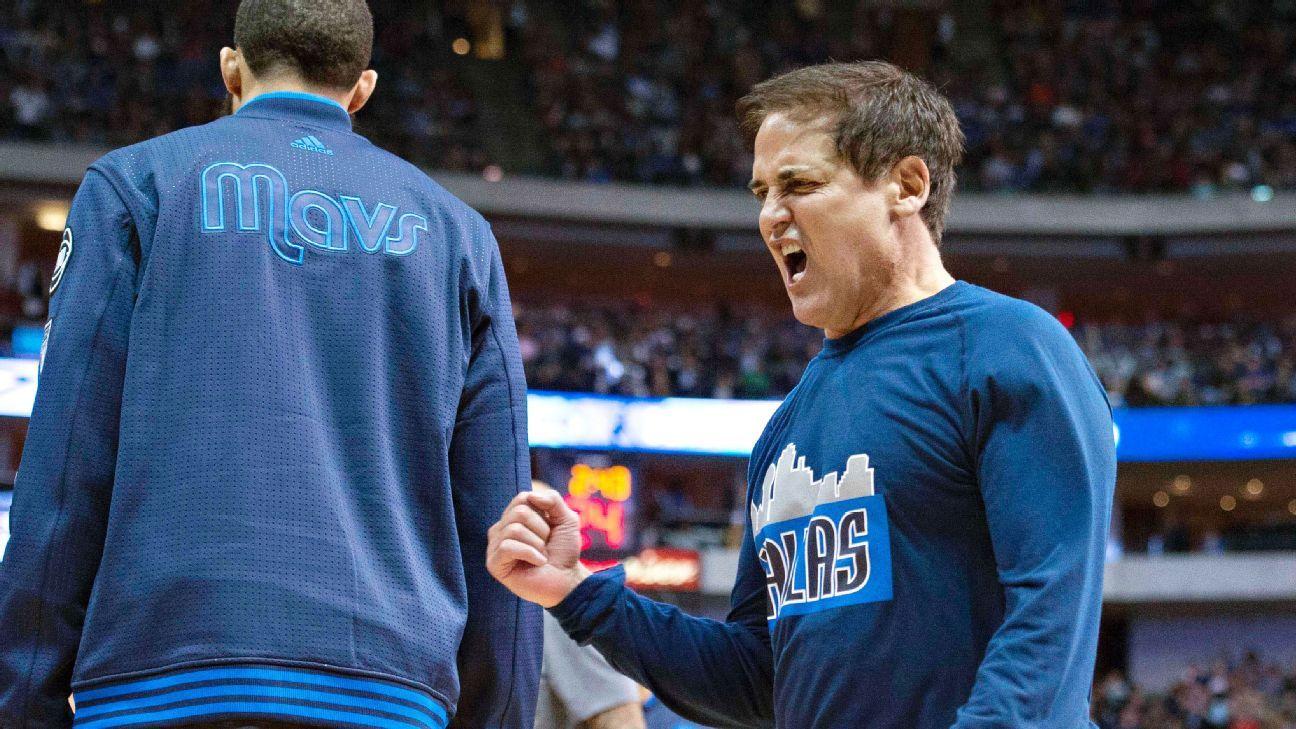 Dallas Mavericks owner Mark Cuban criticizes officials for ...