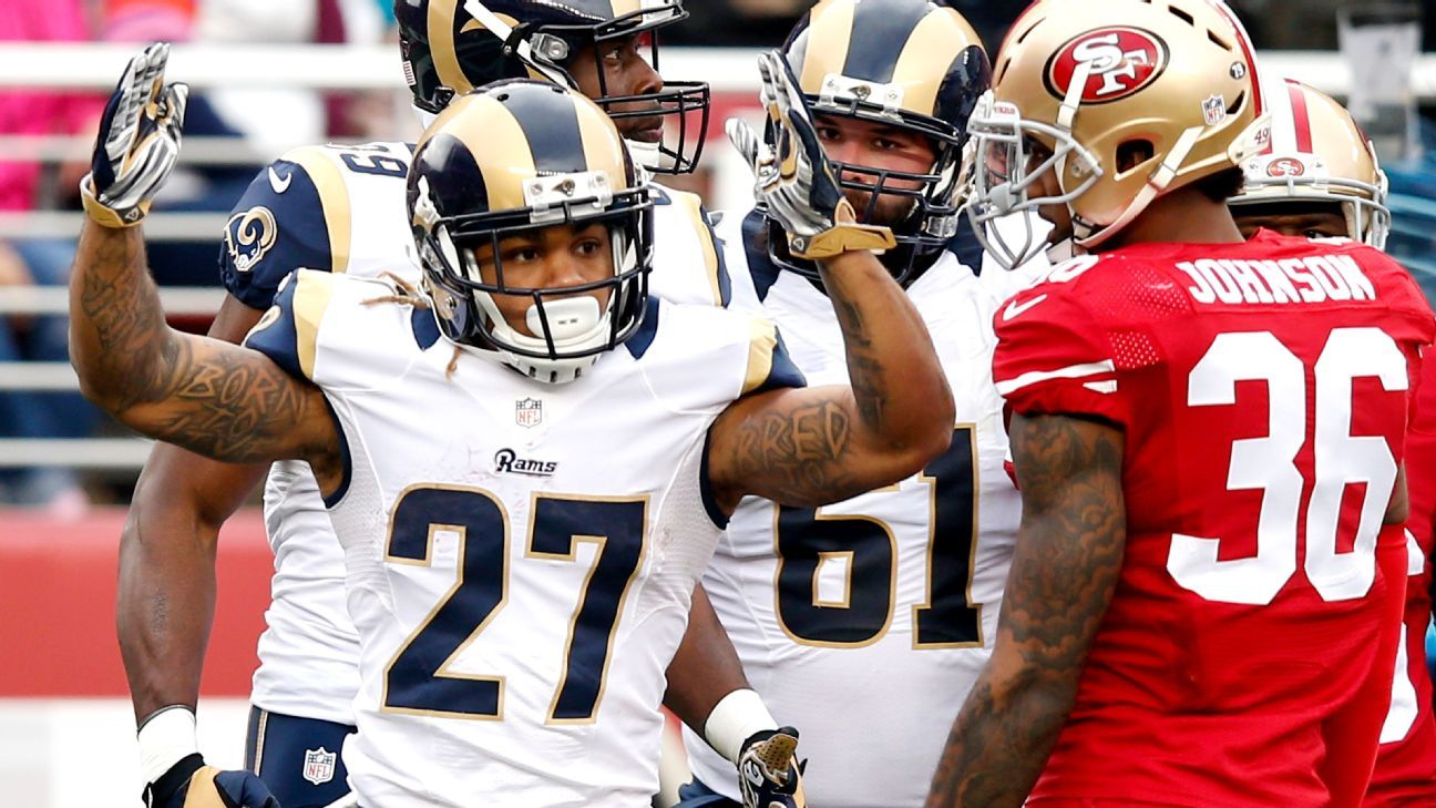 Warrant Issued After Tre Mason Of Los Angeles Rams Skips Hearing