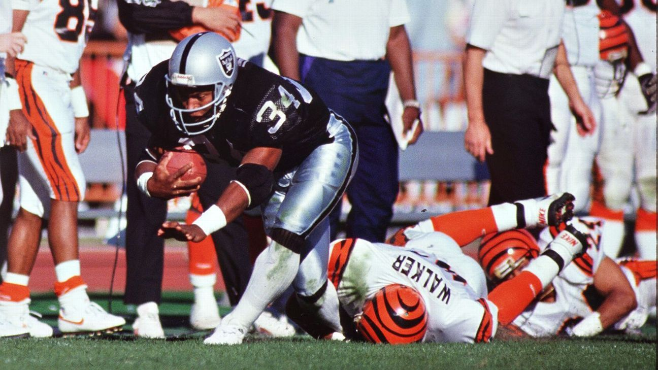 Bo Jackson - 10 things to know on the 25th anniversary of his final NFL game