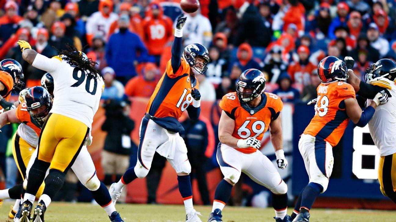 NFL Playoffs: Peyton Manning, Denver Broncos back in AFC ...