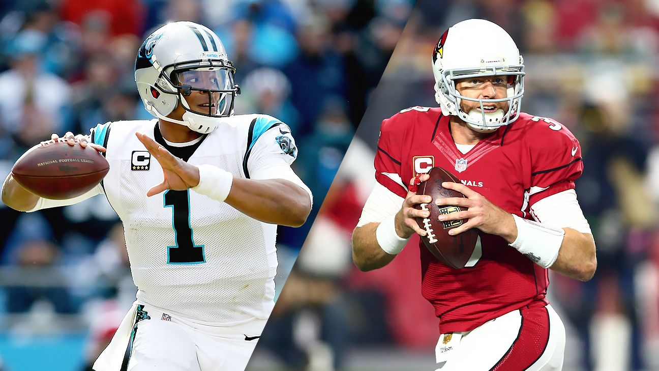 NFC championship: Panthers, Cardinals look to end debate of who is best team in the NFL