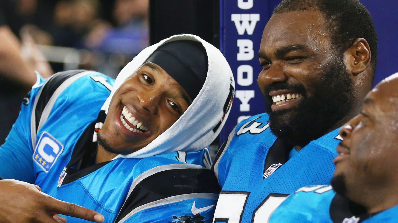 Carolina Panthers' Cam Newton recruited Michael Oher to ...