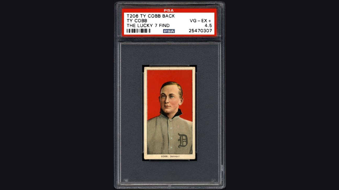 Ty Cobb baseball cards dating to early 1900s found