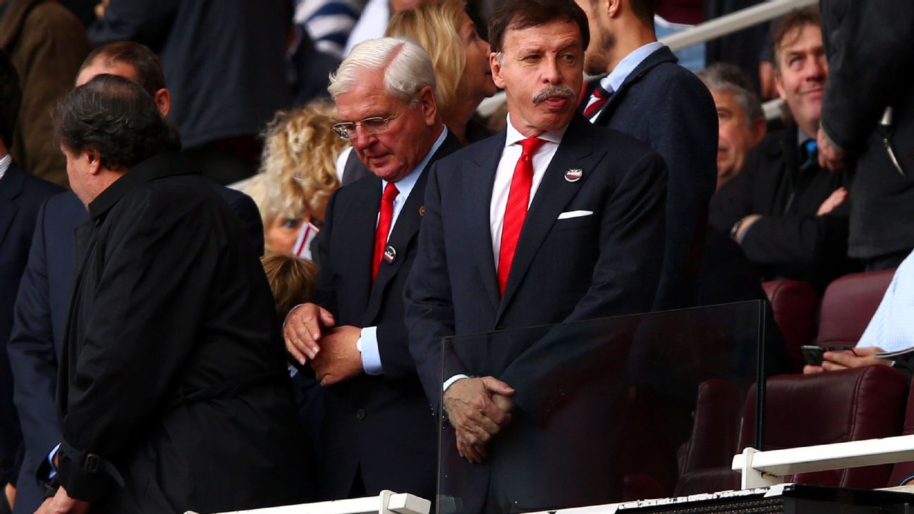 Will Kroenke stop Arsenal spending beyond their means?