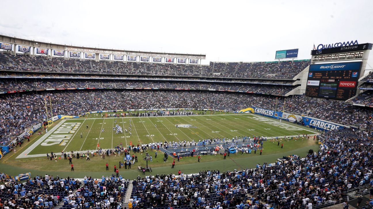 San Diego Chargers prepare for a new start in Los Angeles