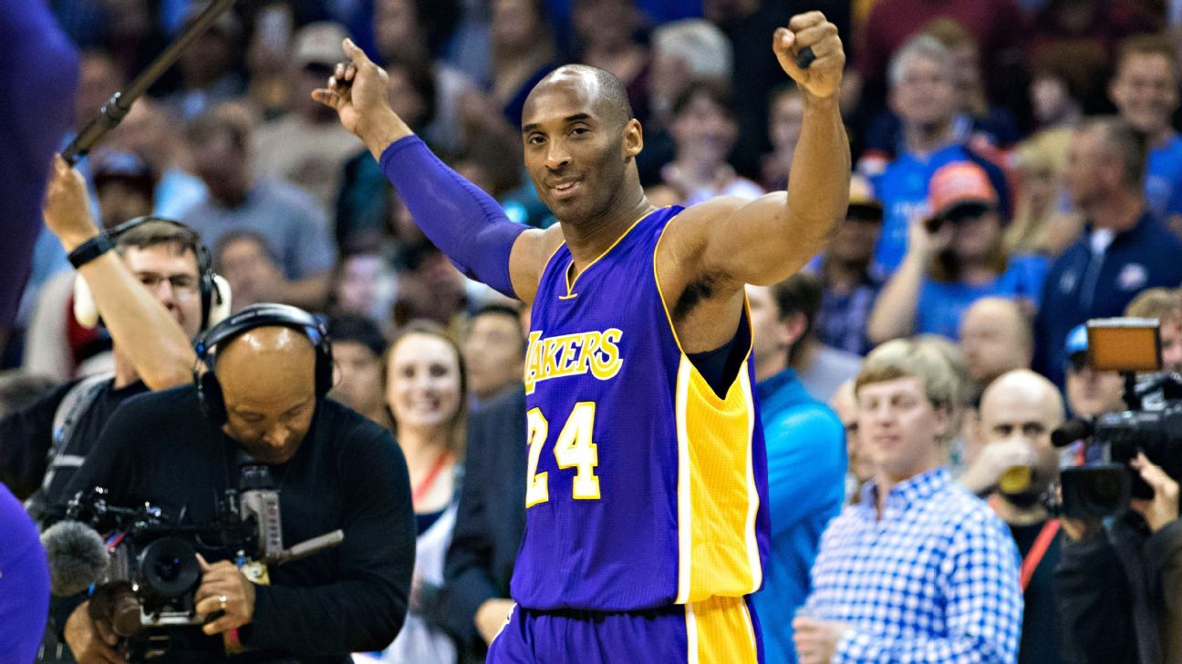 One game to go for Kobe Bryant, who scores 13 in final road contest