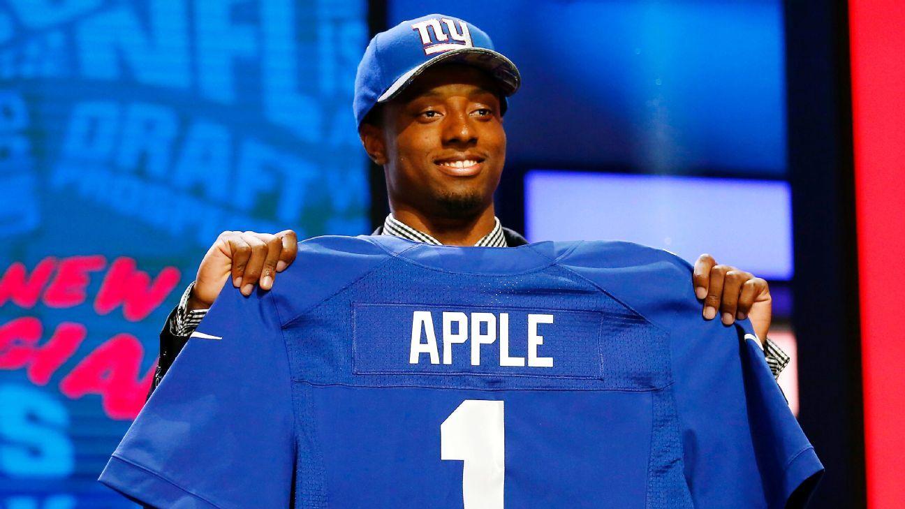 NFL commissioner Roger Goodell sends brownies to Eli Apple's mother