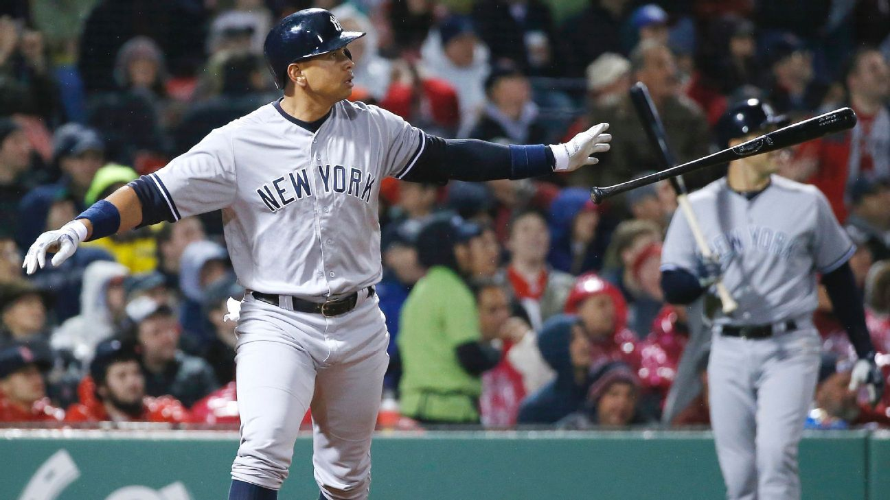 Yankees hit but can't pitch Sunday against Red Sox