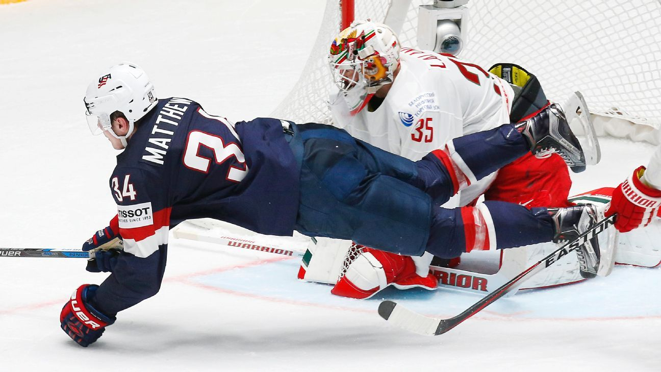Worlds: Americans Play Like Heroes - Auston Matthews Nets A Pair