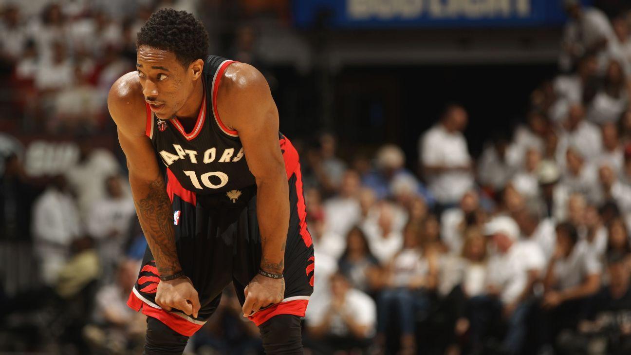 DeMar DeRozan's struggles again in Game 4 Toronto Raptors ...