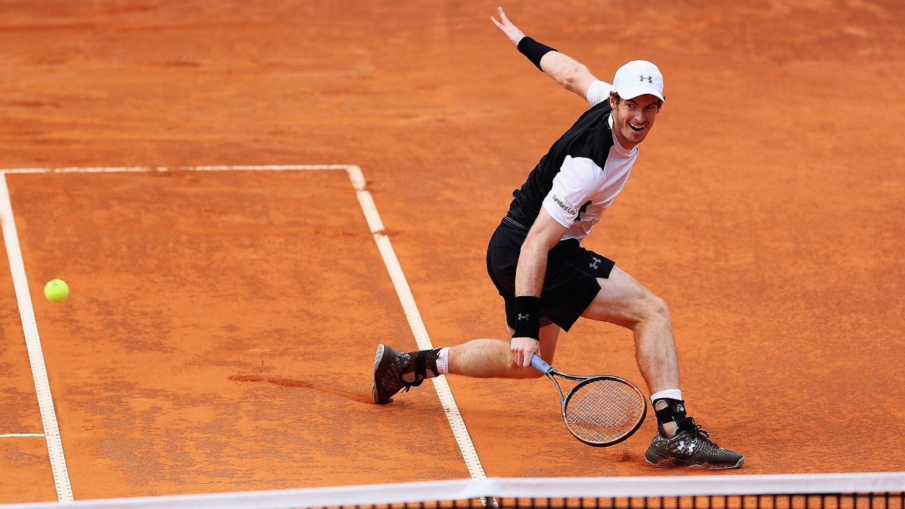 Andy Murray beats David Goffin at Italian Open as clay work pays off