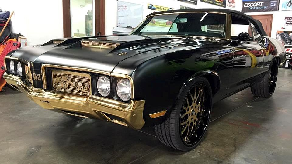 Carolina Panthers Cam Newton S Customized Muscle Car Is A