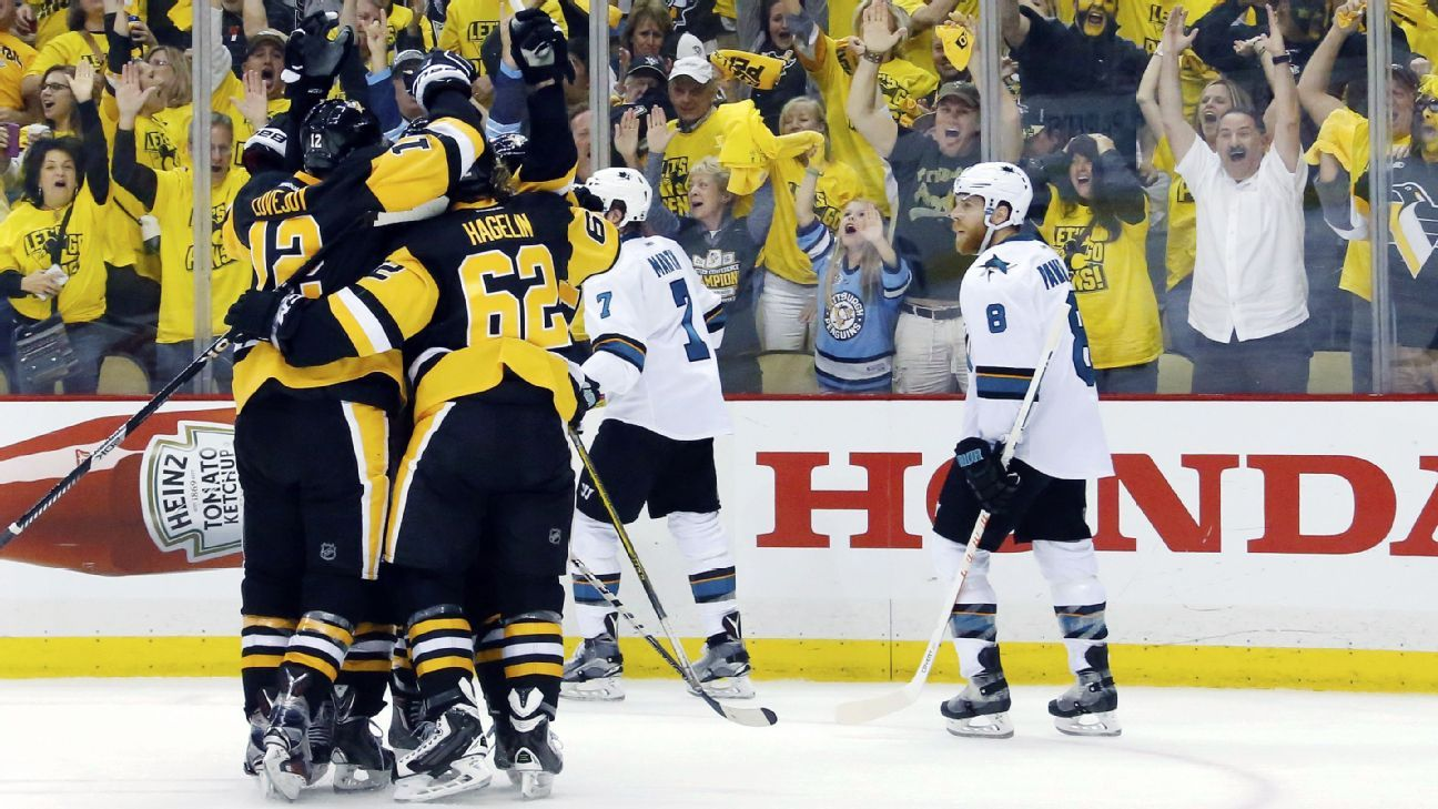 NHL -- 2016 Stanley Cup playoffs -- Pittsburgh Penguins ...