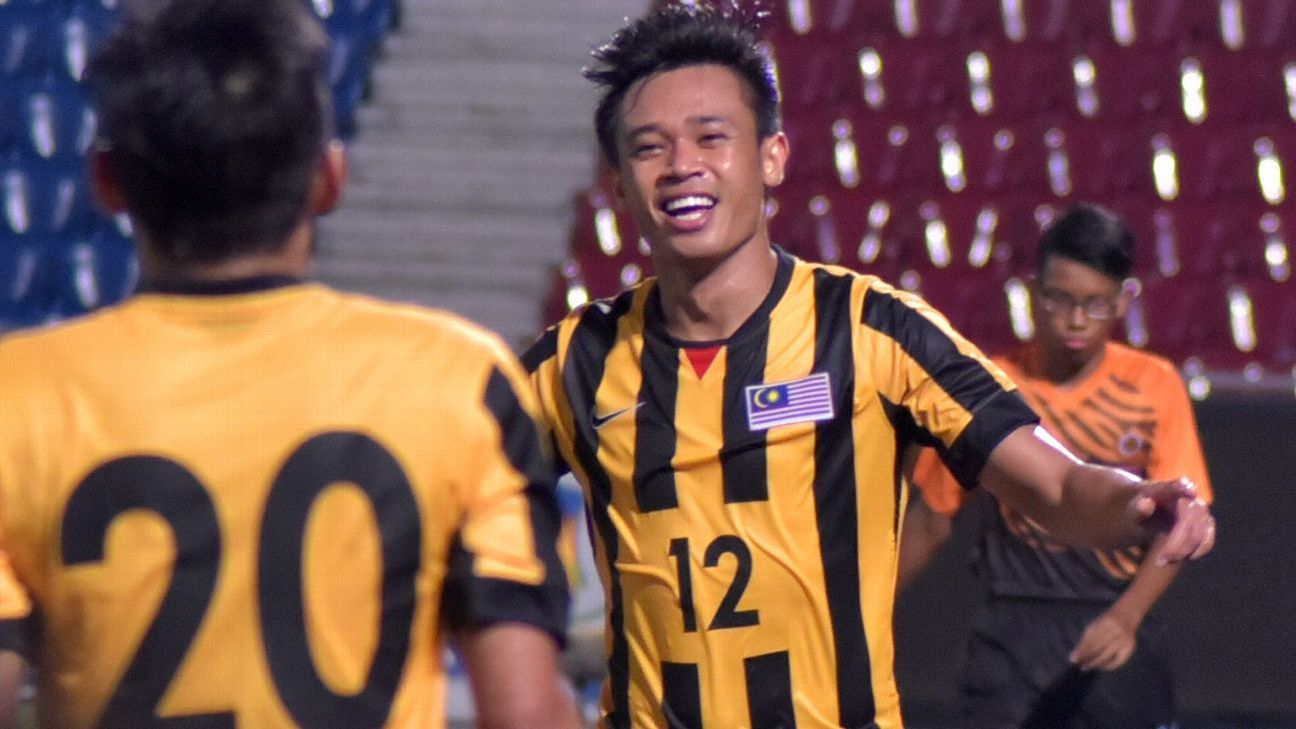 cec61d7bb71 Lok, Hazwan look to revive Malaysia scoring fortunes for AFF Cup