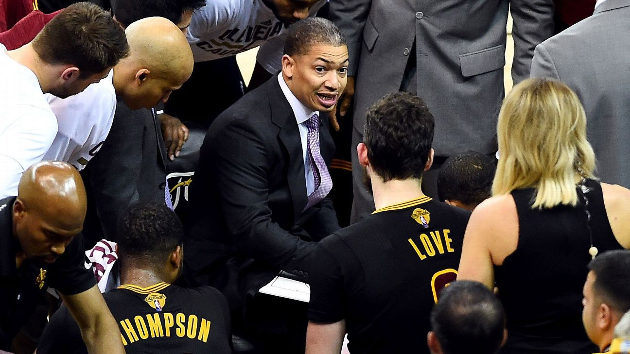 Nba Finals 2016 Tyronn Lue Finds His Voice For Cleveland
