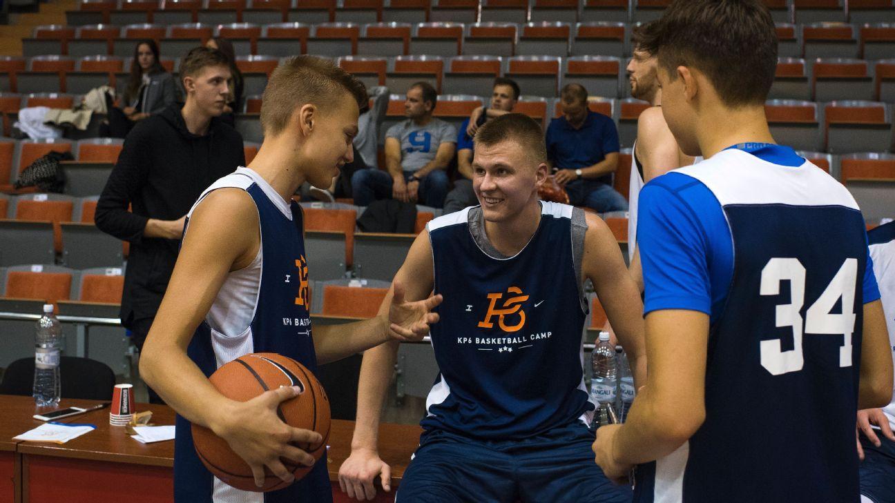 Kristaps Porzingis' journey from skinny, sleepy kid to Latvian hero