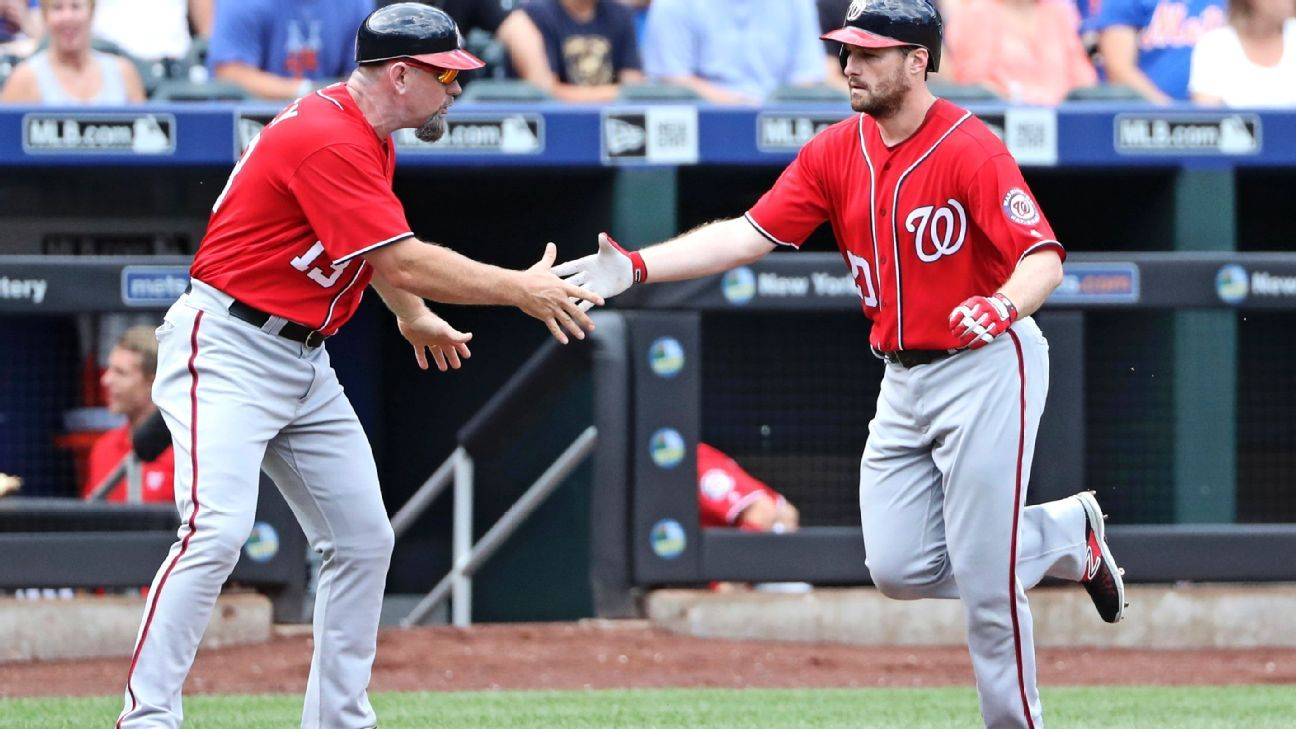 Mets' deficit back to six games as Nats' Daniel Murphy punishes ex-mates
