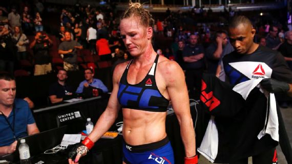 7856f6a42e ... Holm (10-2) was on the top of the MMA world as recently as November