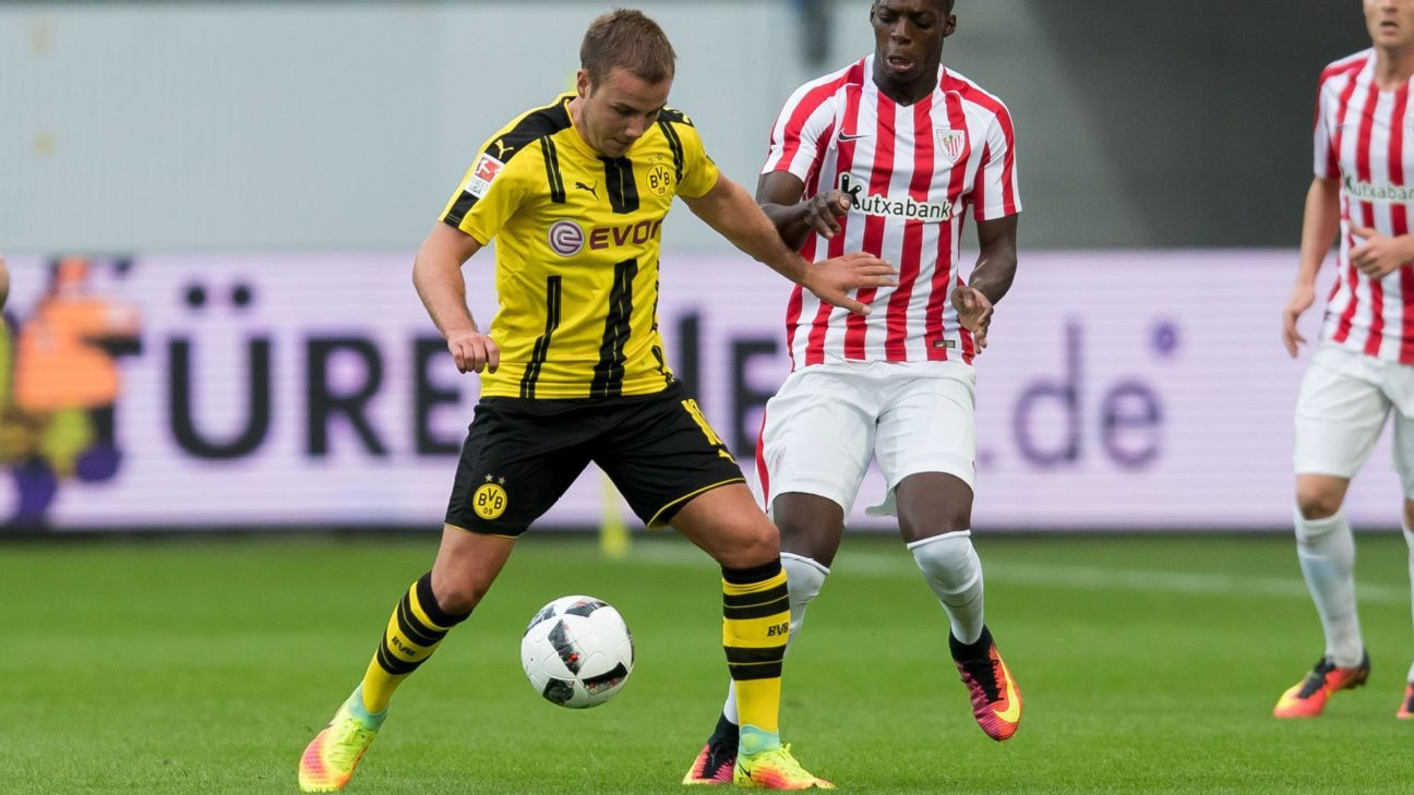 borussia dortmund midfielder mario gotze to miss mainz opener. Black Bedroom Furniture Sets. Home Design Ideas