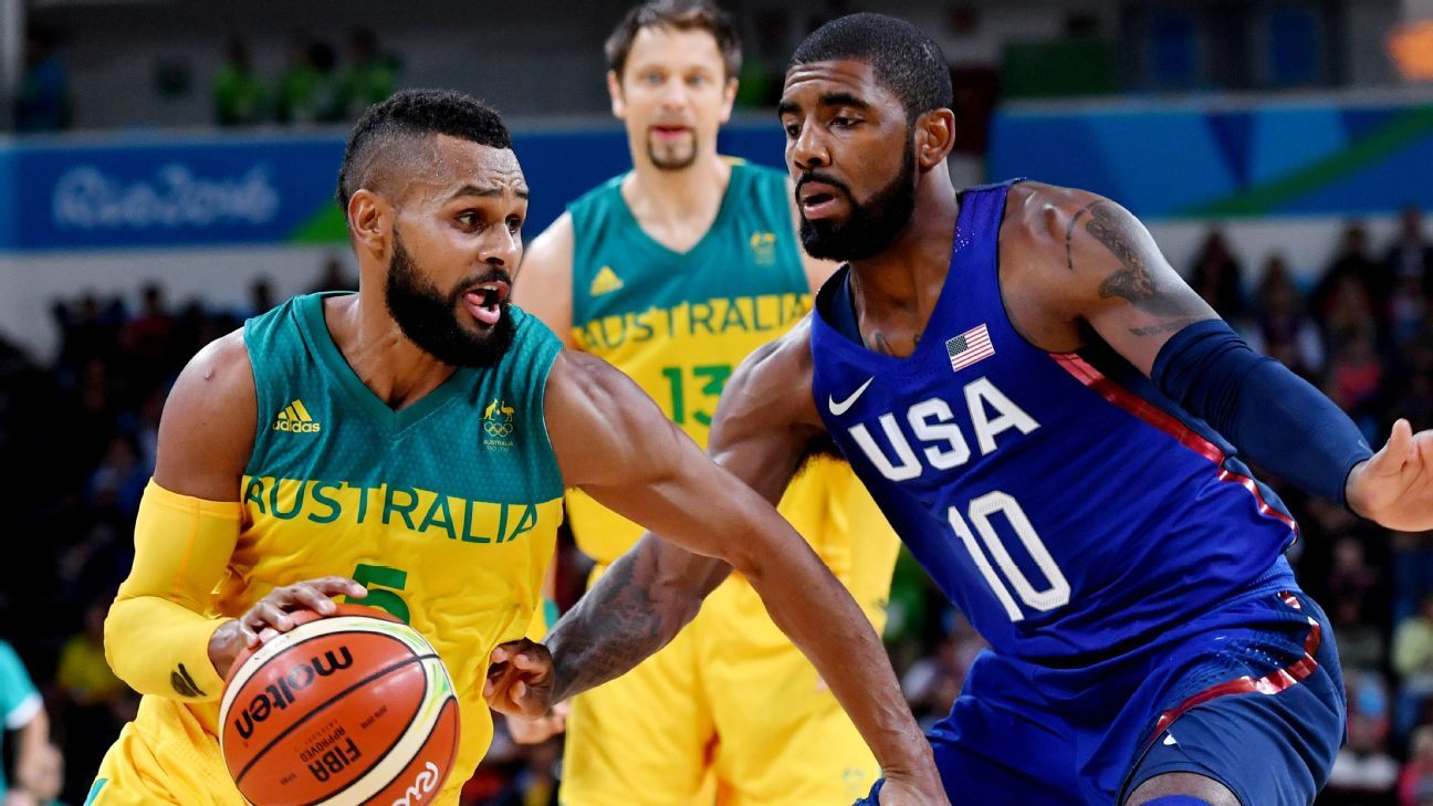 Australian Boomers to host Team USA for two exhibition matches in Melbourne in 2019