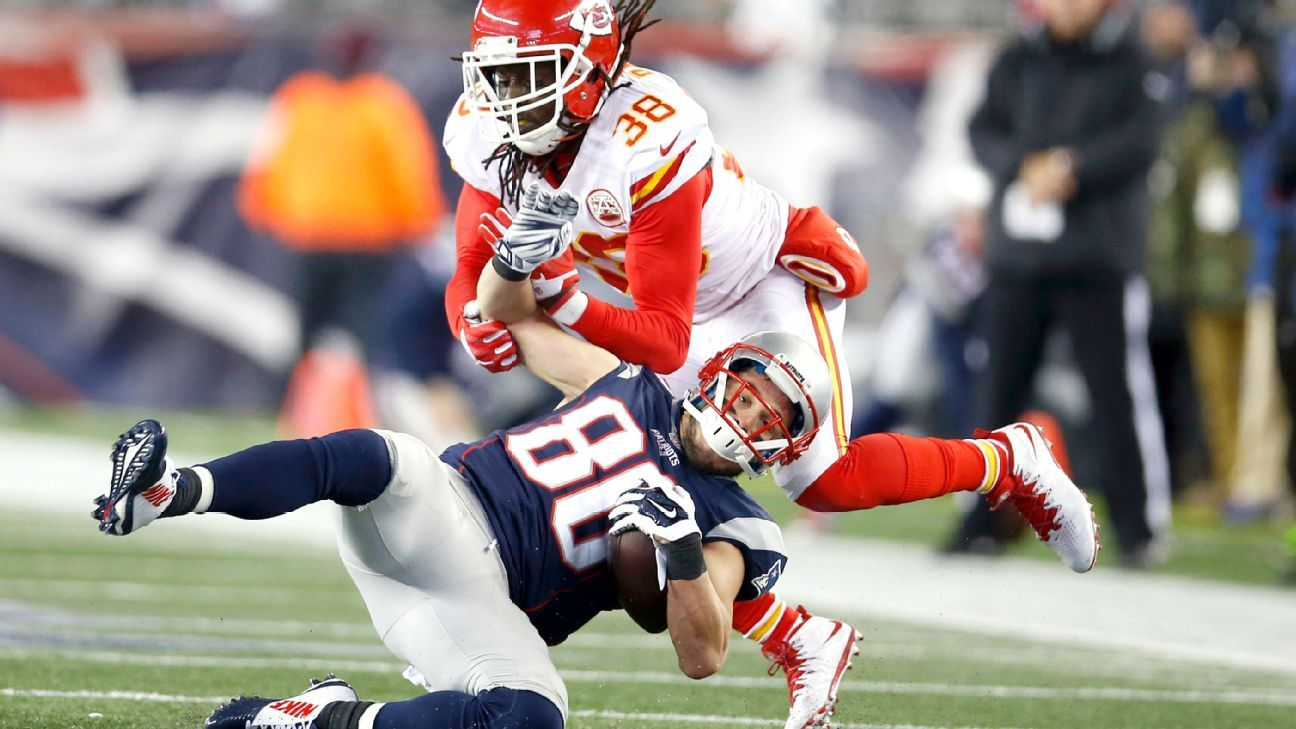 The Chiefs released starting safety Ron Parker and veteran linebacker Tamba Hali on Monday.