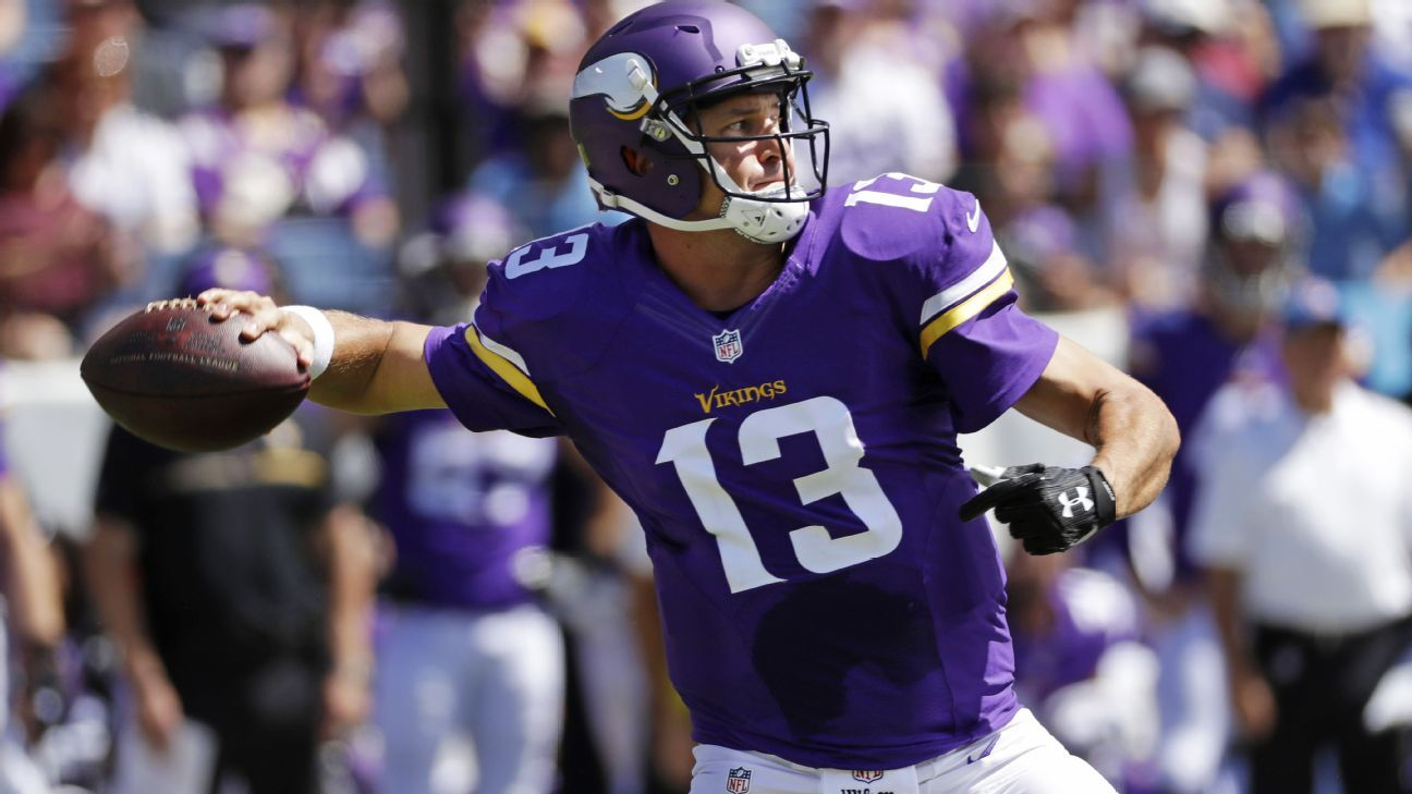590487246 ... Shaun Hill gave Minnesota Vikings something to think about - Minnesota  Vikings Blog- ESPN Womens Minnesota Vikings NFL ...