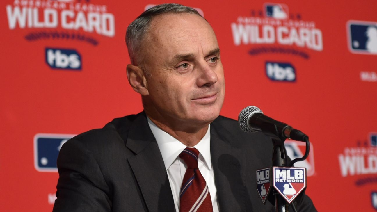 MLB commissioner Rob Manfred says computer umpires will be available sooner than later