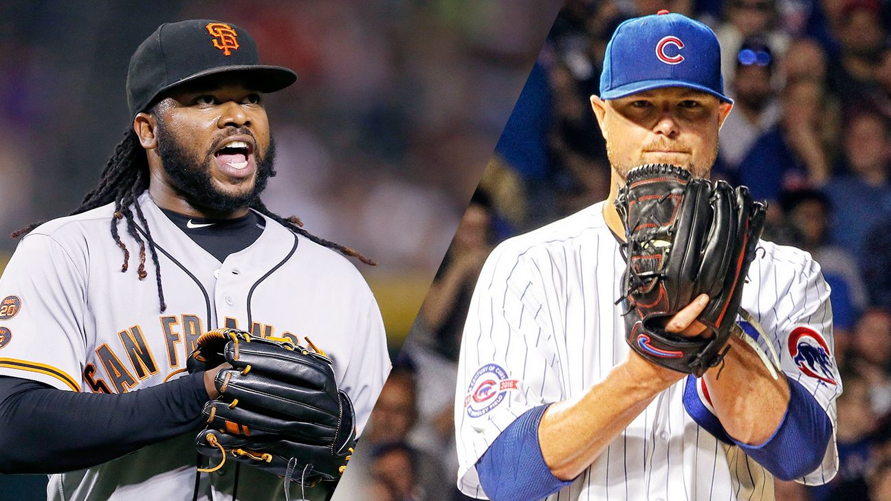 Image result for johnny cueto vs. jon lester