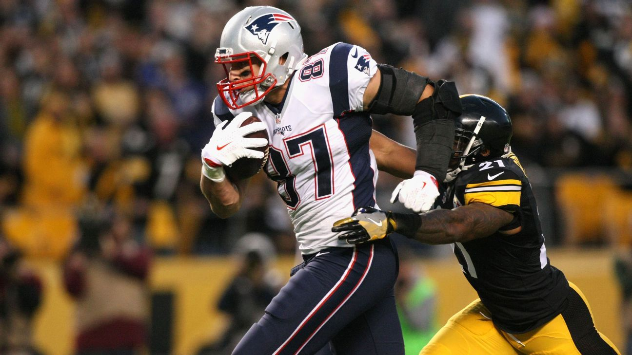 Pittsburgh Steelers defensive players hope to employ 'group effort' to contain New England Patriots tight end Rob Gronkowski