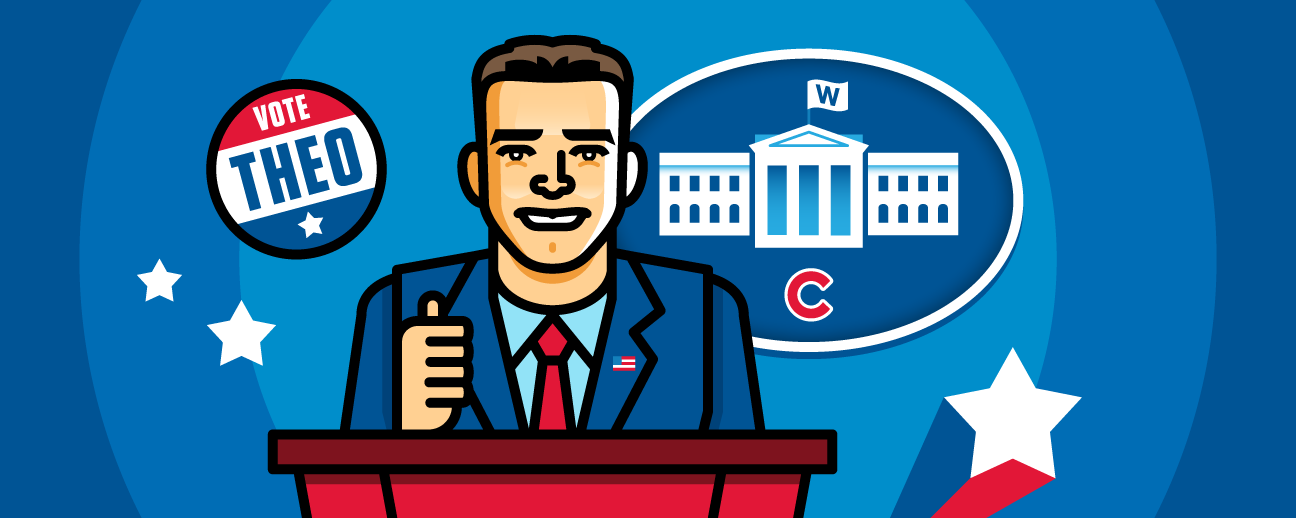 Image result for theo epstein for president