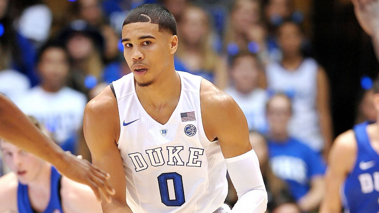 Jayson Tatum of Duke Blue Devils to make season debut Saturday
