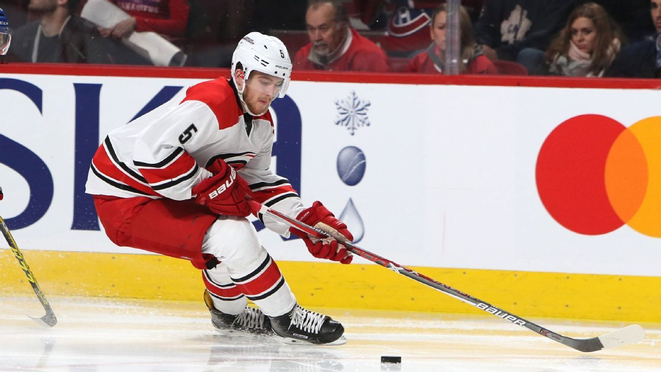 Canes get Hamilton in 5-player deal with Flames