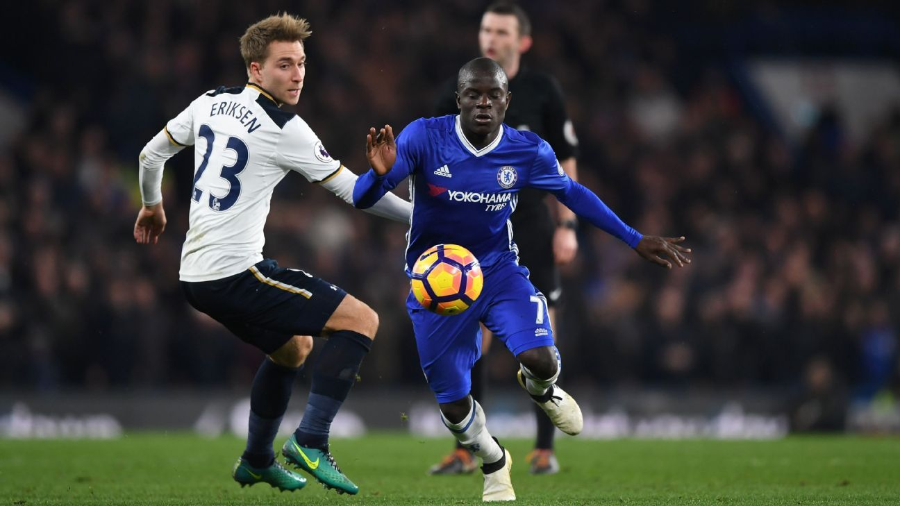 Leicester chelsea feel force of midfield dynamo n golo kante s move