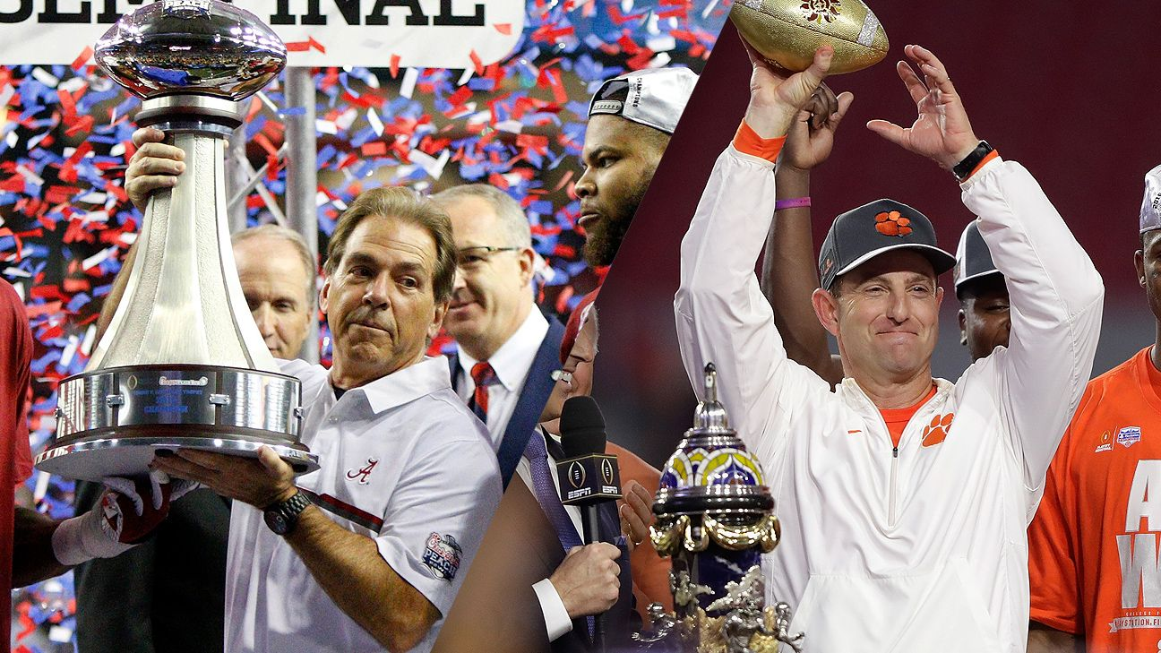 What to watch for in Clemson Tigers and Alabama Crimson Tide College Football Playoff National Championship