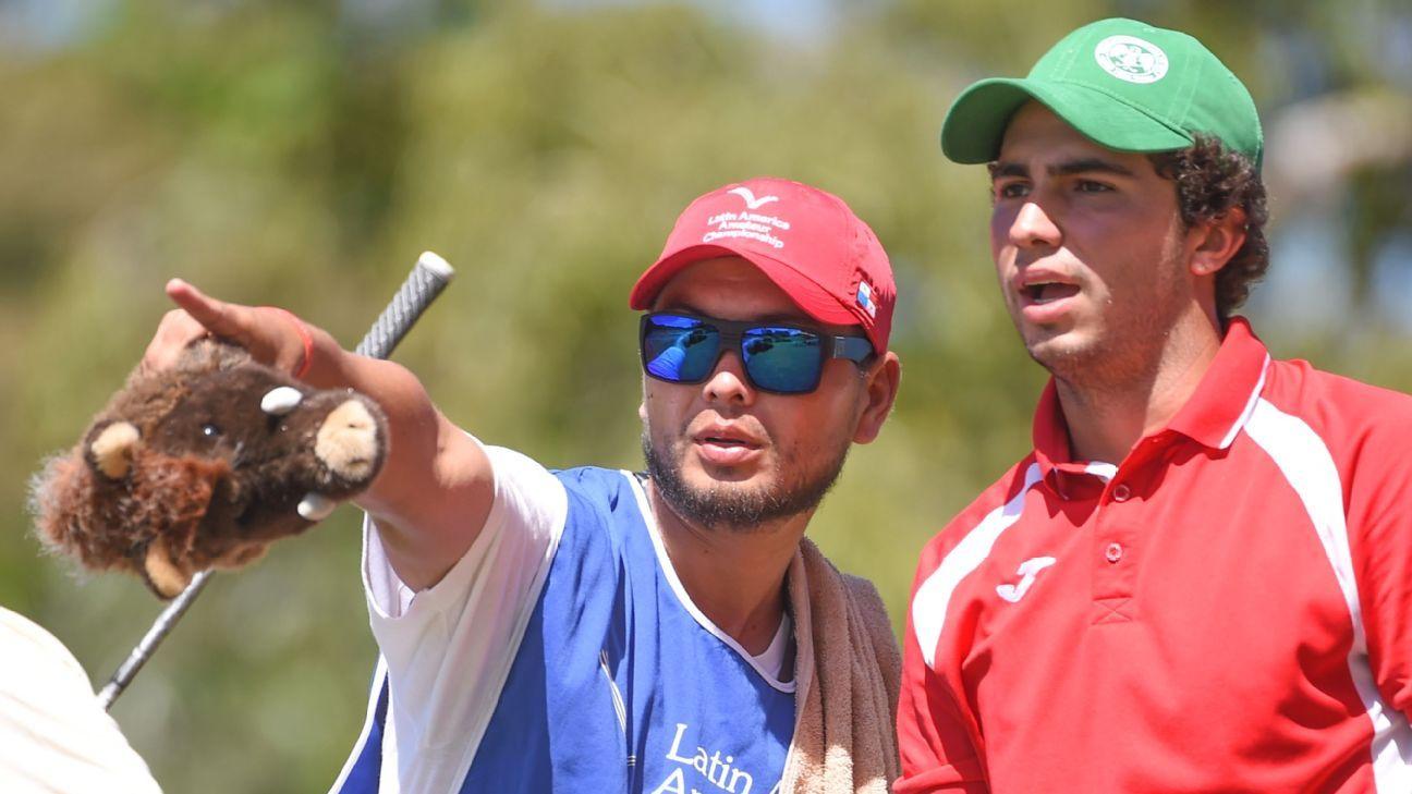 Mexico's Alvaro Ortiz and Chile's Toto Gana share Latin America Amateur lead