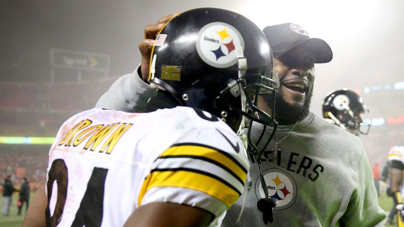 Mike Tomlin, Antonio Brown could hash out Facebook issue
