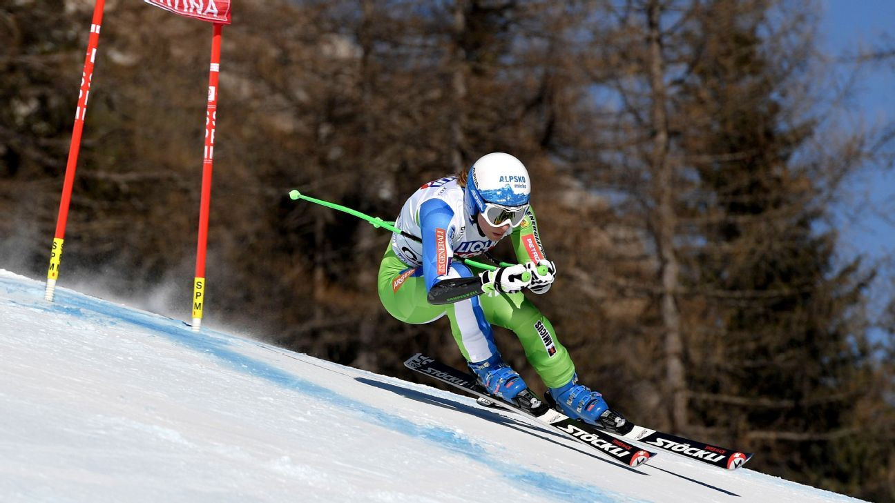 World champion skier Ilka Stuhec set to miss Olympics after ACL tear
