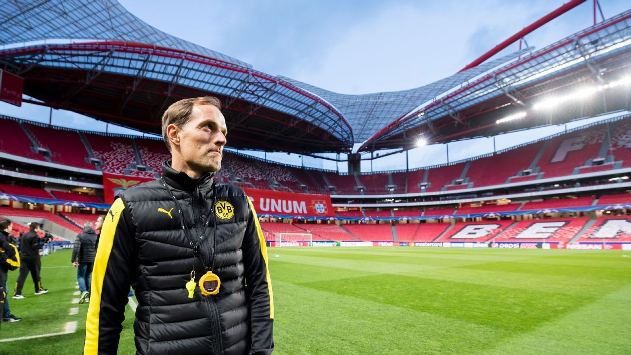 borussia dortmund confirm exit of manager thomas tuchel. Black Bedroom Furniture Sets. Home Design Ideas