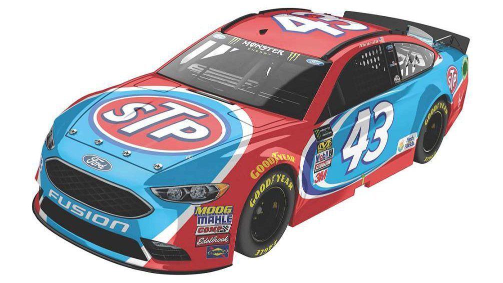 2017 NASCAR Cup Series Paint Schemes - Team #43 Richard ...